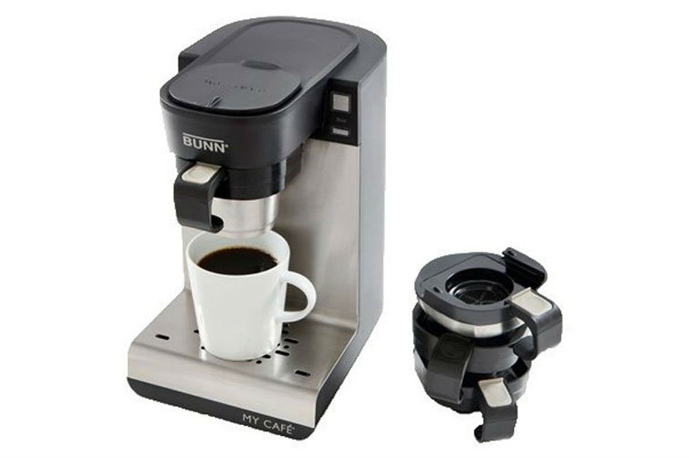 K Cup Coffee Maker Ratings : BUNN MCU Single Cup Multi-Use Home Coffee Brewer Review One Single Cup