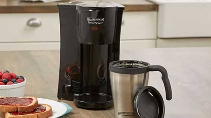 Black and Decker DCM18S Brew 'N Go Coffeemaker Review